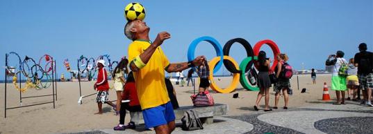 Главный пляж Олимпиады в Рио