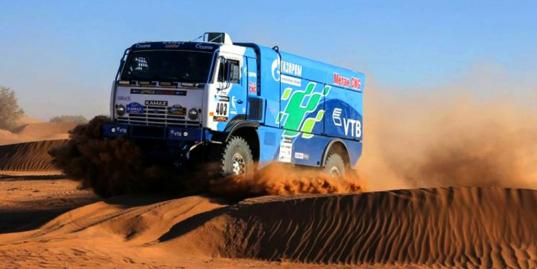 Каргинов — главный претендент на победу. 9-й этап Africa Eco Race
