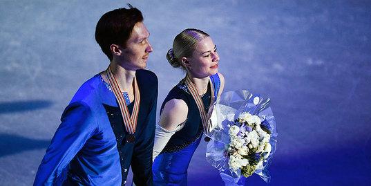 Как Евгения Тарасова и Владимир Морозов выиграли первую медаль чемпионата мира