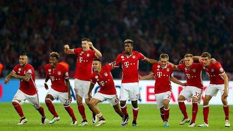 «Бавария» досрочно завоевала 27-е чемпионство