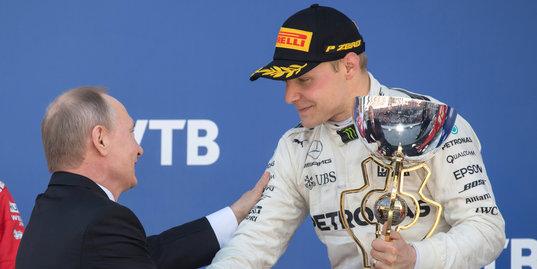 «All the best!» Путин поздравляет призеров Гран-при России