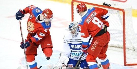 Олимпийская сборная России уступила Франции в овертайме