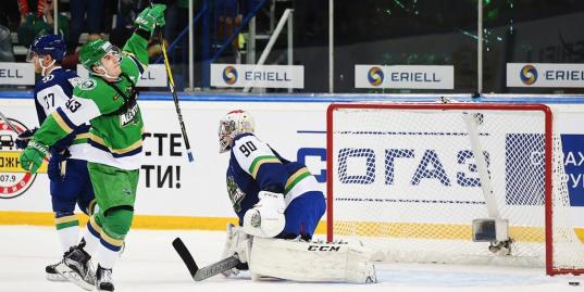 Матч звезд КХЛ: 18-летний игрок СКА забивает победную шайбу в финале