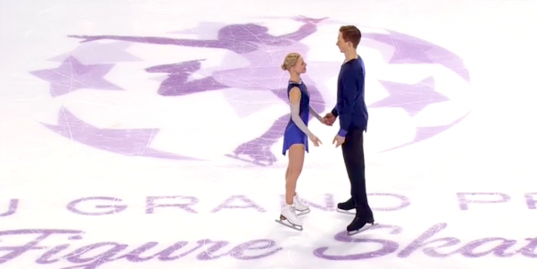 Тарасова и Морозов победили в финале Гран-при