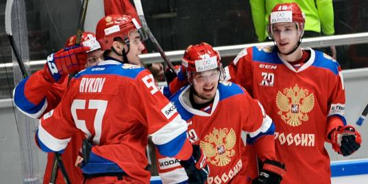 Сборная России стартует на Шведских играх победой над Финляндией