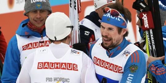 Устюгов отыгрывает 13 секунд и привозит России серебро в эстафете