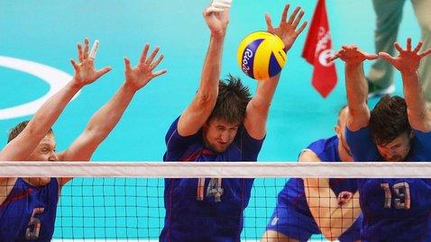 Российские волейболисты разгромили команду Косово