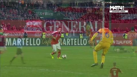 Австрия - Молдова. 2:0. Мартин Харник