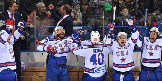 СКА отыгрался с 0:2 и стал обладателем Кубка Гагарина