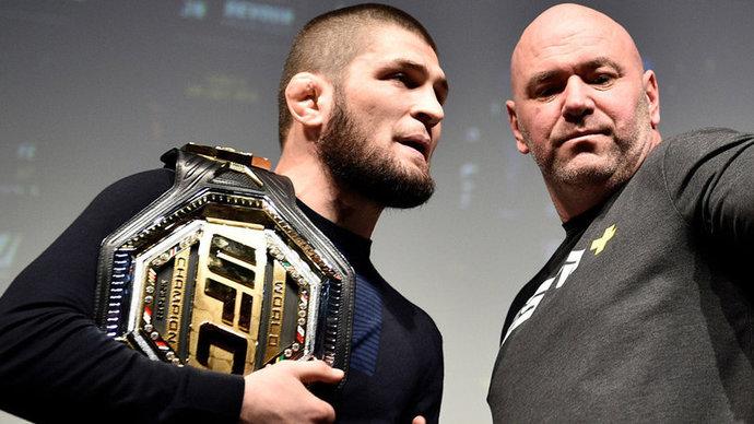 Хабиб поделился, о чем говорил на встрече с главой промоушена UFC