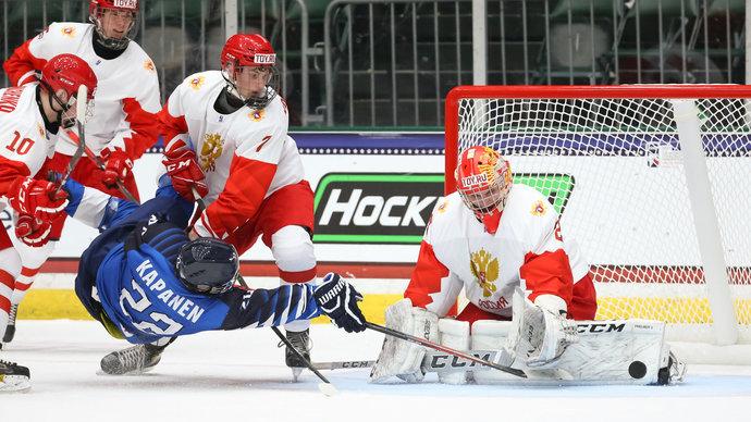 Тренер юниорской сборной России: Концовочка матча с Финляндией получилась смазанной, но ребята  молодчики, выстояли