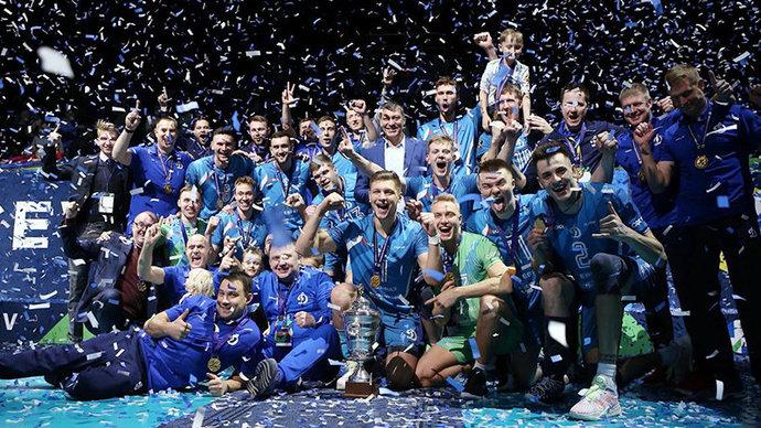 Московское Динамо стало трехкратным обладателем Кубка ЕКВ