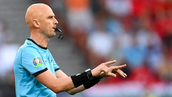Карасев назначен резервным арбитром на полуфинал Евро-2020 Италия  Испания