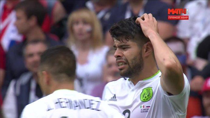 Россия — Мексика. 1:1. Нестор Араухо (видео)