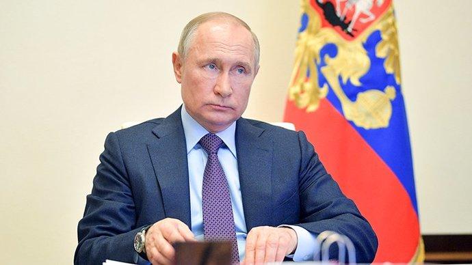 Путин заявил, что его не задела форма сборной Украины на Евро-2020