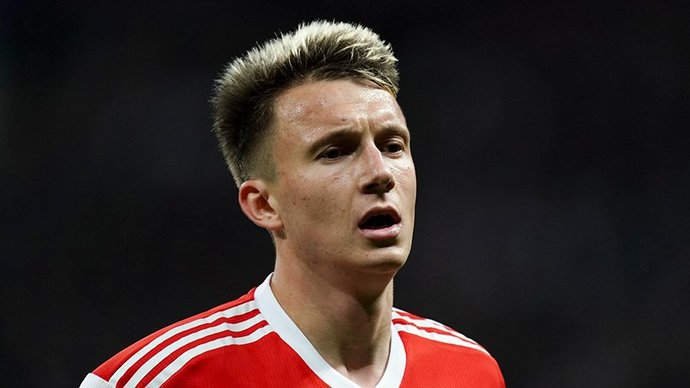Головин и Миранчук  в старте сборной России на матч с Польшей