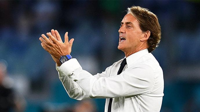 Роберто Манчини: Сборная Италии сыграла безупречно в матче с Бельгией