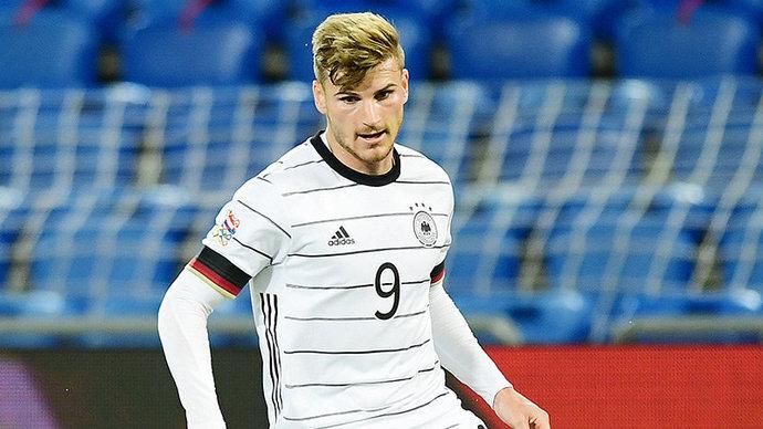 Сборная Германии забила четыре мяча Исландии, Вернер отличился в концовке