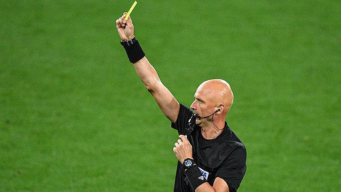 Карасев назначен главным арбитром матча ИталияШвейцария на Евро-2020