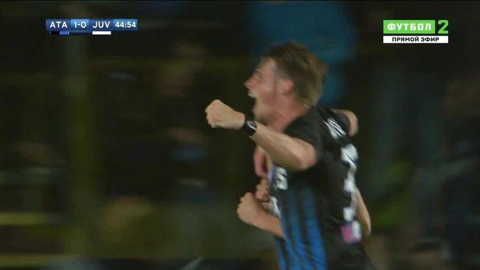 Аталанта - Ювентус. 1:0. Андреа Конти (видео)