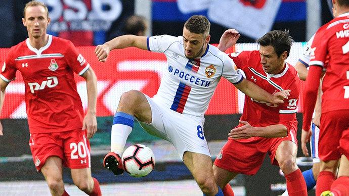 Полузащитник ЦСКА попал в заявку сборной Хорватии на отборочный матч Евро