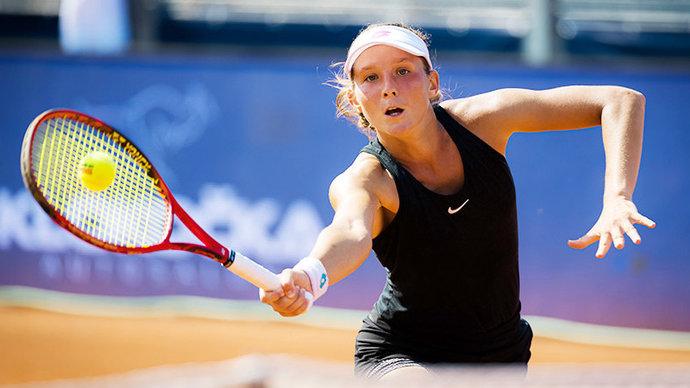Грачева завершила свое выступление на турнире в Люксембурге