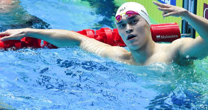 CAS сократил дисквалификацию пловца Сунь Яна