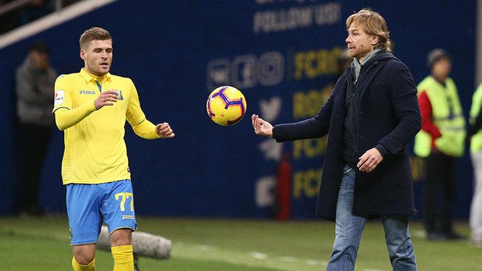 Дмитрий Скопинцев – Карпину: «Коуч, я очень благодарен вам за период карьеры в «Ростове»