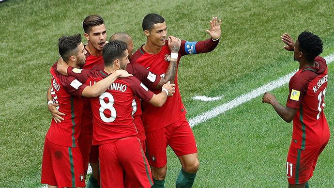 Португалия вышла в полуфинал Кубка конфедераций, разгромив Новую Зеландию