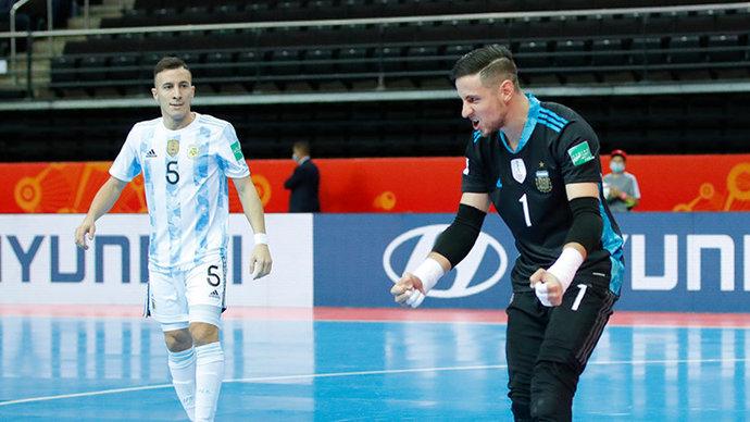Сборная России уступила Аргентине в серии пенальти в четвертьфинале ЧМ