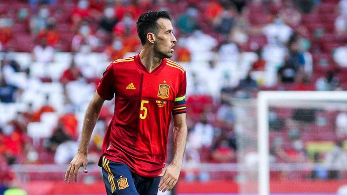 Бускетс  в стартовом составе Испании на матч со Словакией