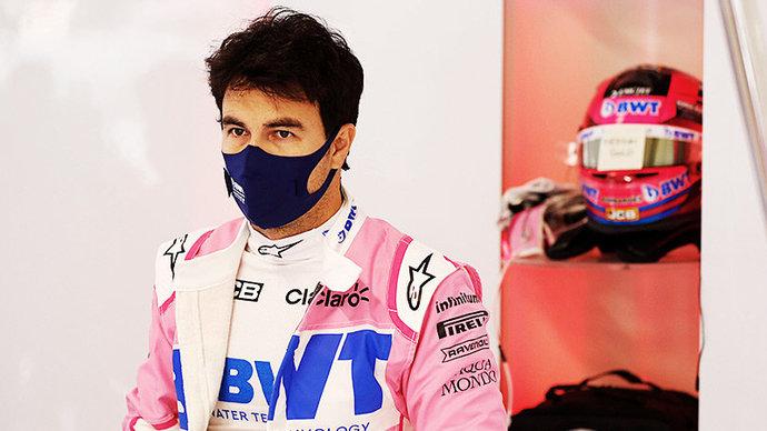 Перес оказался быстрее всех на утренних заездах третьего дня тестов «Формулы-1»