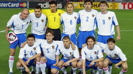 Команда россии по футболу на чемпионате мира 2002