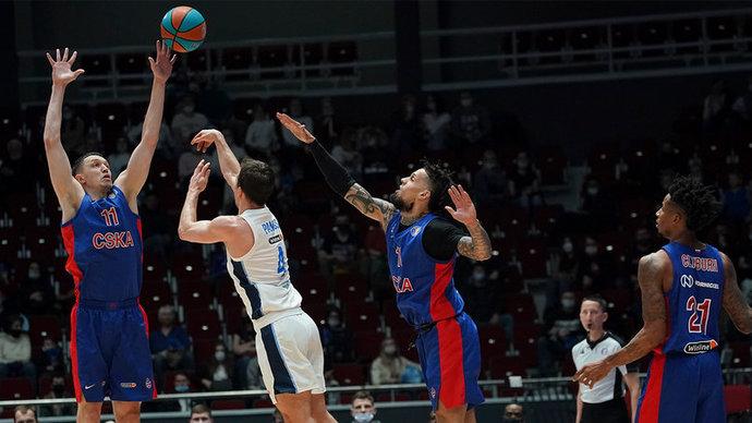 «Зенит» одолел ЦСКА и досрочно выиграл регулярный чемпионат Единой лиги
