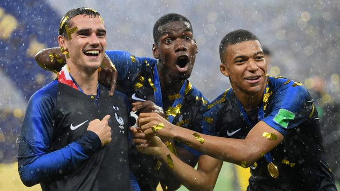 В FIFA 18 присвоены новые рейтинги Гризманну, Мбаппе и Погба