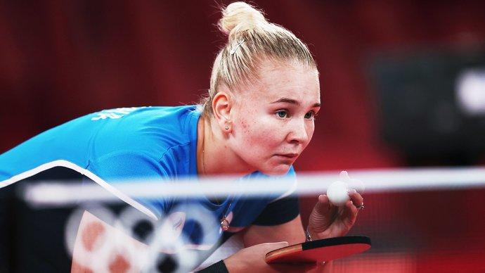 Россиянка Носкова одержала победу на старте турнира по настольному теннису на Олимпиаде