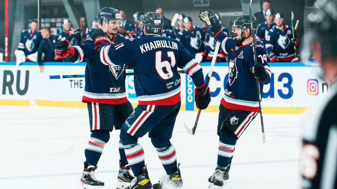 Нефтехимик на последней минуте игры в Минске прервал 9-матчевую серию без побед