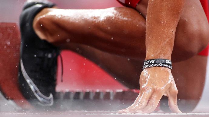Незрячая бегунья получила предложение спустя несколько минут после финиша на Паралимпиаде (видео)