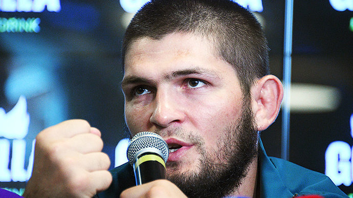 Хабиб посмеялся над переговорами с главой UFC (видео)