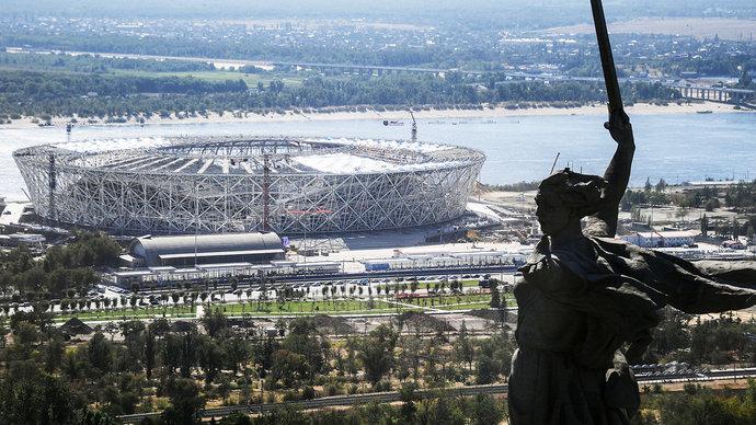 Виталий Мутко: «Ротор» в ближайшие годы будет громить всех на стадионе ЧМ-2018 в Волгограде». UPD видео