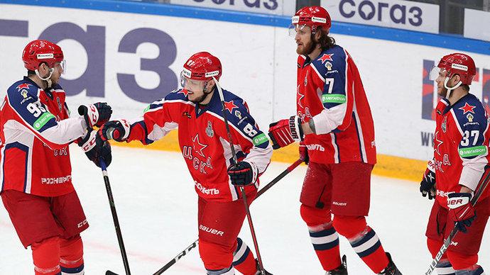 ЦСКА обыграл СКА в первом матче финала Западной конференции