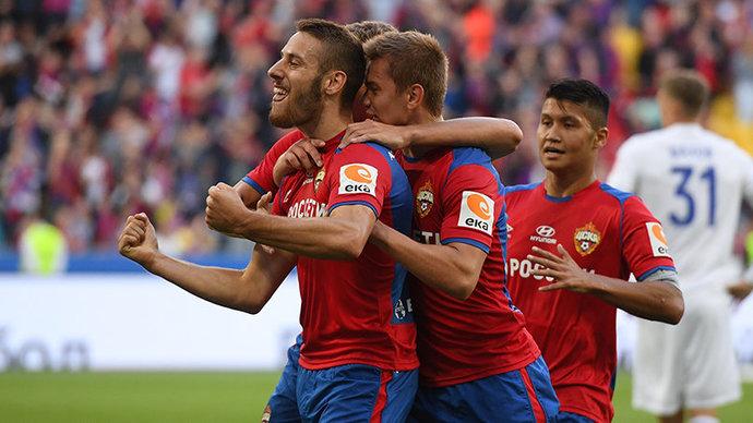 ЦСКА одержал победу над «Оренбургом»