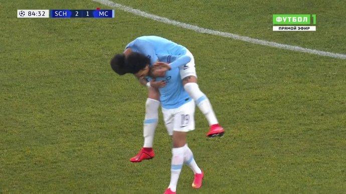 Шальке - Манчестер Сити. 2:2. Лерой Зане (видео)