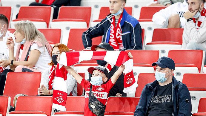 Матч Спартак  Легия смогут посетить 13 500 зрителей