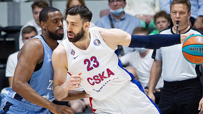 Зенит в двух овертаймах победил ЦСКА и сравнял счет в полуфинальной серии Единой лиги ВТБ