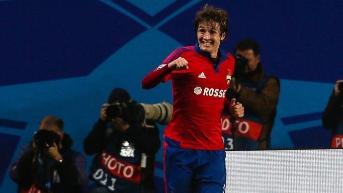 Фернандес сможет дебютировать за сборную России в матче с Кот-д'Ивуаром