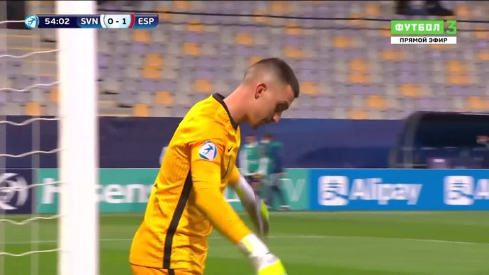 Словения (U-21) - Испания (U-21) - 0:3. Голы (видео)