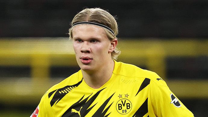 Холанд претендует на звание самого быстрого игрока в 2021 году