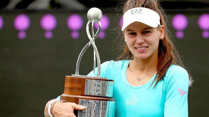 23-летняя Кудерметова впервые в карьере выиграла турнир WTA