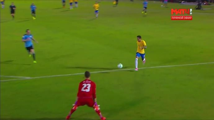 Уругвай - Бразилия. 1:3. Неймар (видео)